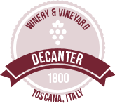 Decanter 1800 Winery & Vineyard Toscana, Italy